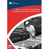Index to the UK Standard Industrial Classification of Economic Activities: 2007 (BOK)