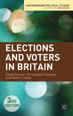 Elections and Voters in Britain (BOK)