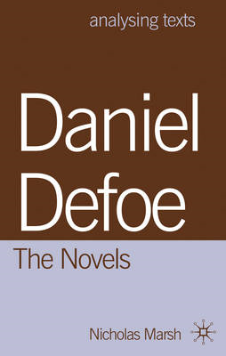 Daniel Defoe: The Novels (BOK)