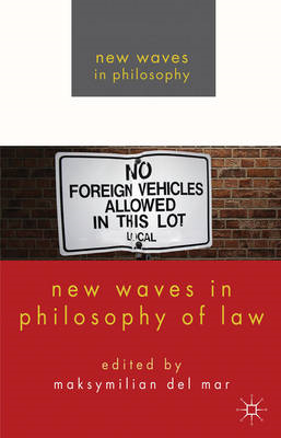New Waves in Philosophy of Law (BOK)