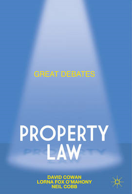 Great Debates in Property Law (BOK)