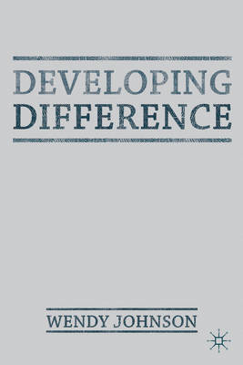 Developing Difference (BOK)