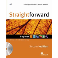 Straightforward Second Edition Workbook (+ Key) + CD Pack Beginner Level (BOK)