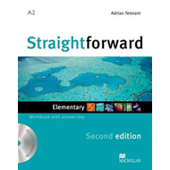 Straightforward Elementary Level: Workbook with Key + CD (BOK)