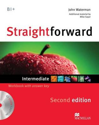 Straightforward Intermediate Level: Workbook with Key + CD (BOK)