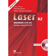 Laser A2: Workbook with Key + Audio CD Pack (BOK)