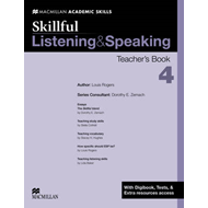 Skillful Teacher's Book Listening and Speaking + Digibook + Audio CD Level 4 (BOK)