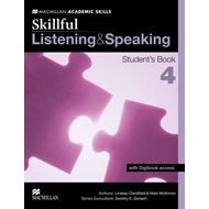 Skillful Listening and Speaking Student's Book + Digibook Level 4 (BOK)