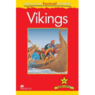 Macmillan Factual Readers Level 3+: Vikings (BOK)