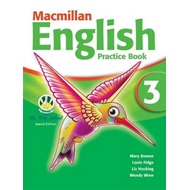 Macmillan English 3 Practice Book with CD-ROM (BOK)