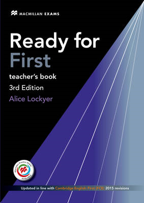 Ready for First (FCE) (3rd Edition) Teacher's Book with Clas (BOK)