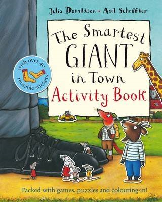 Smartest Giant in Town Activity Book (BOK)