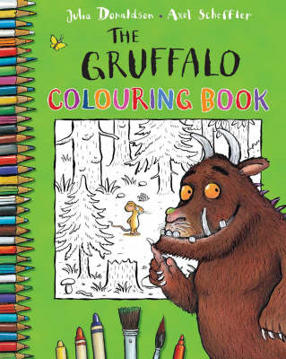 The Gruffalo Colouring Book (BOK)