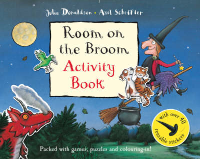 Room on the Broom Activity Book (BOK)