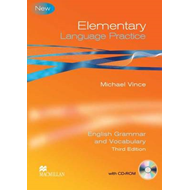 Elementary Language Practice Student Book with Key and CD RO (BOK)
