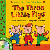 Lift-the-flap Fairy Tales: The Three Little Pigs (BOK)