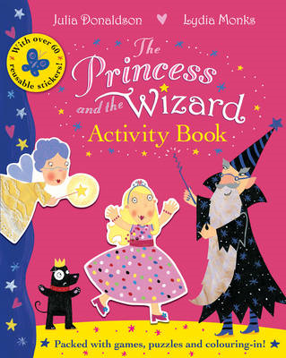 Princess and the Wizard Activity Book (BOK)