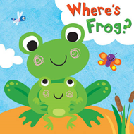 Squeaky Bath Books: Where's Frog? (BOK)