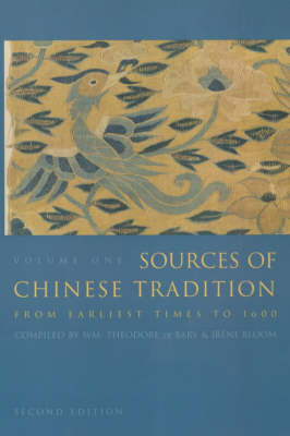 Sources of Chinese Tradition (BOK)