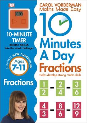 10 Minutes a Day Fractions (BOK)