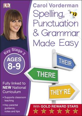 Made Easy Spelling, Punctuation and Grammar Ages 8-9 Key Sta (BOK)