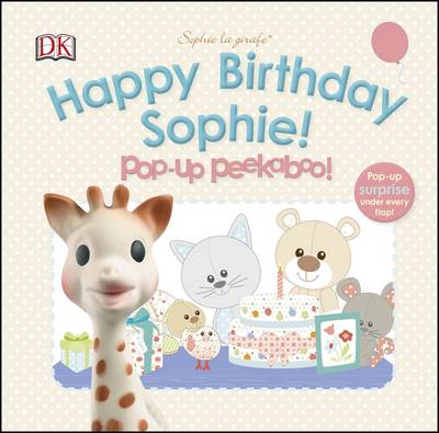 Sophie La Girafe Pop-Up Peekaboo Happy Birthday Sophie! (BOK)