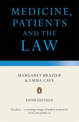 Medicine, Patients and the Law (BOK)