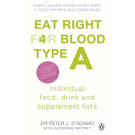 Eat Right for Blood Type A (BOK)
