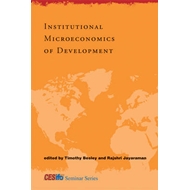 Institutional Microeconomics of Development (BOK)