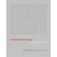Institutional Critique (BOK)