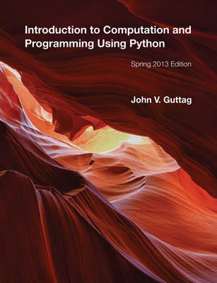 Introduction to Computation and Programming Using Python (BOK)