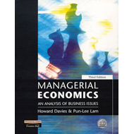 Managerial Economics: An Analysis of Business Issues (BOK)