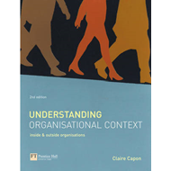 Understanding Organisational Context: Inside and Outside Organisations (BOK)