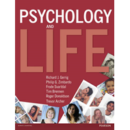 Psychology and Life (BOK)