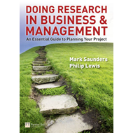 Doing Research in Business and Management (BOK)
