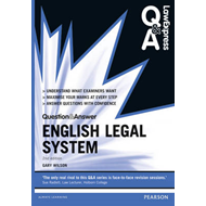 Law Express Question and Answer: English Legal System (BOK)