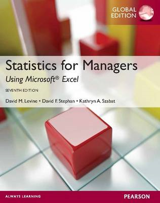 Statistics for Managers Using MS Excel (BOK)