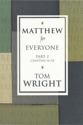 Matthew for Everyone: Pt. 2 (BOK)