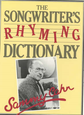Songwriter's Rhyming Dictionary (BOK)