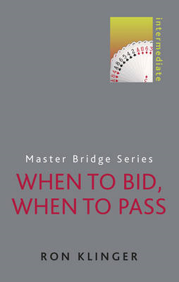 When to Bid, When to Pass (BOK)