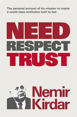 Need, Respect, Trust: The Memoir of a Vision (BOK)