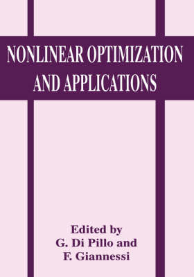 Nonlinear Optimization and Applications (BOK)