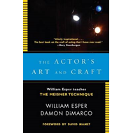 Actor's Art and Craft (BOK)