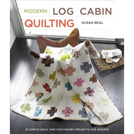 Modern Log Cabin Quilting (BOK)