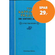 Produktbilde for The Happiness Project One-Sentence Journal (BOK)