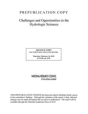 Challenges and Opportunities in the Hydrologic Sciences (BOK)