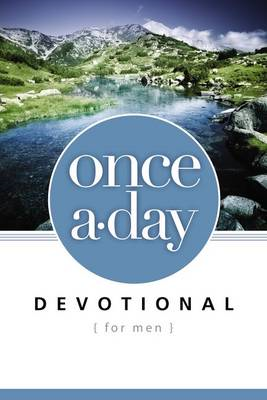 Once-A-Day Devotional for Men (BOK)