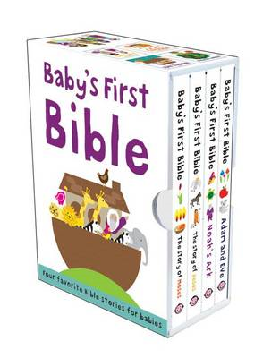 Baby's First Bible: The Story of Moses/Noah's Ark/The Story of Jesus/Adam and Eve (BOK)