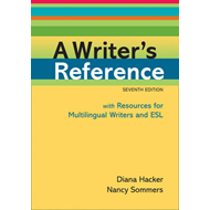 A Writer's Reference with Resources for Multilingual Writers and ESL (BOK)