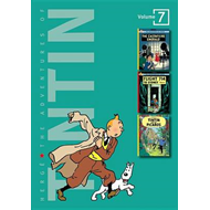 The Adventures of Tintin, Volume 7: The Castafiore Emerald, Flight 714 to Sydney, and Tintin and the (BOK)